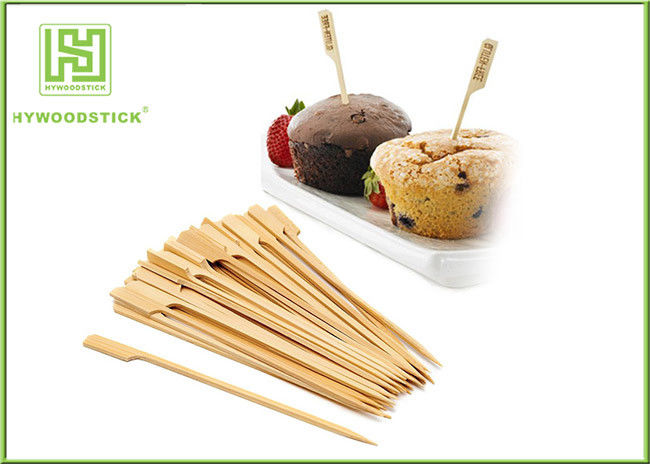 Wooden And Bamboo BBQ Sticks Roasting Spit Grill Skewers For Barbecue Catering