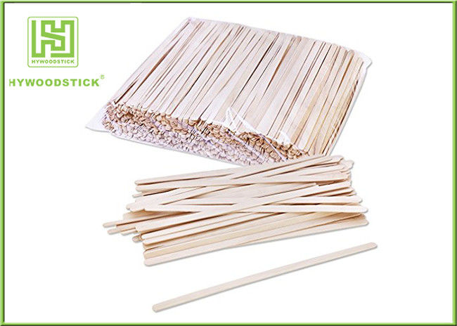 Grade A Short Wooden Coffee Stirrer Sticks For Vending Machine Non Toxins