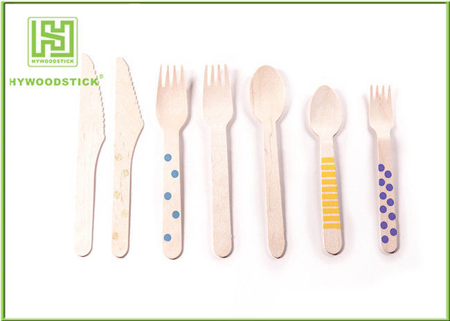Sterile Eco Friendly Flatware Disposable Soup Spoons For Takeaway Shop