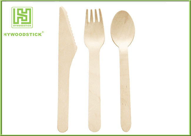 Taste Free Disposable Wooden Teaspoons Eco Friendly Disposable Tableware For Weddings